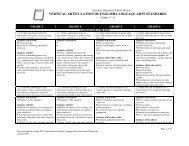vertical articulation of english language arts standards - Gateway ...