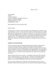letter - American Academy of Family Physicians
