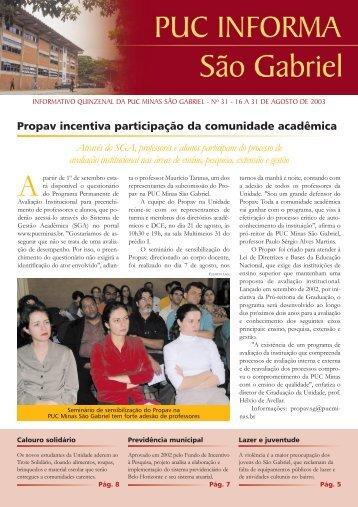agosto - PUC Minas