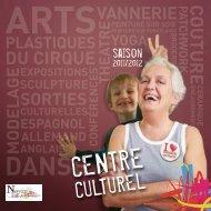 Centre culturel Yves Guyon Saison 2011-2012 - Ville de Noyon