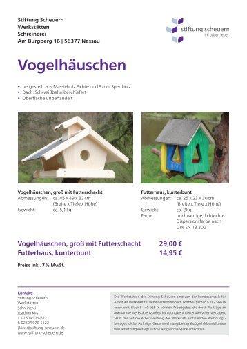 Futterhaus - Stiftung Scheuern