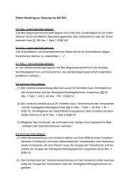 Satzung 3. Nachtrag - Berufsgenossenschaft Rohstoffe und ...