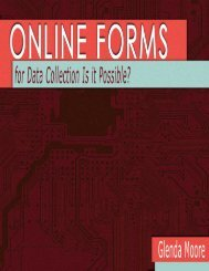 Online Form For Data Collection: Is it Possible?