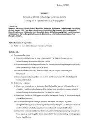 Referat af møde 4. september 2008 - Ribe Stift