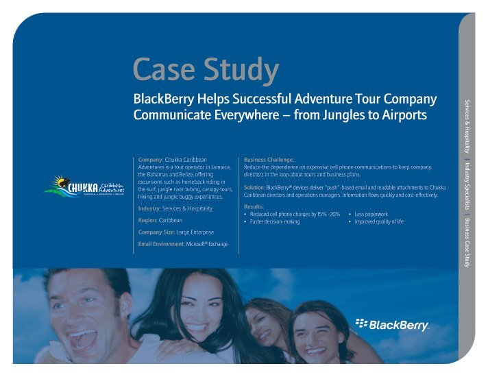 arabic blackberry case study Integrated case study research in motion the blackberry unit allows the user both access to and the capability to work with a wide range of business.