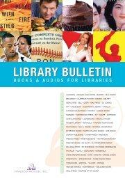 LIBRARY BULLETIN LIBRARY BULLETIN - Randomhouse.biz