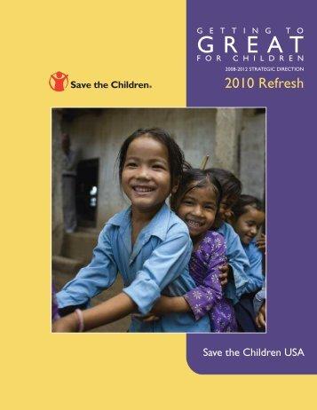 2010 Refresh - Save the Children