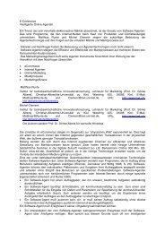 E-Commerce Intelligente Online-Agenten Ein ... - Absatzwirtschaft