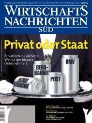 Ausgabe 03/2013 Wirtschaftsnachrichten Süd