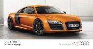 Kurzanleitung R8 Coupé - PDF - Audi