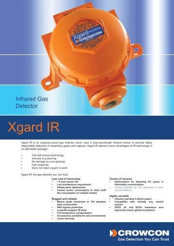 Xgard IR Prelim.indd - CONTRONIX