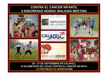 contra el cáncer infantil i endurence nordic walking ... - Sportlife.es