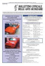 Scarica il Bollettino n° 38 del 20/10/2007 - ISVEG Istituto Vendite ...