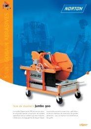 Scie de chantier Jumbo 900 - Norton Construction Products