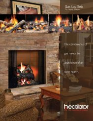 Gas Log Sets - Hearth & Home Technologies