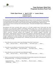 Download a comment form - Delaware Department of Natural ...