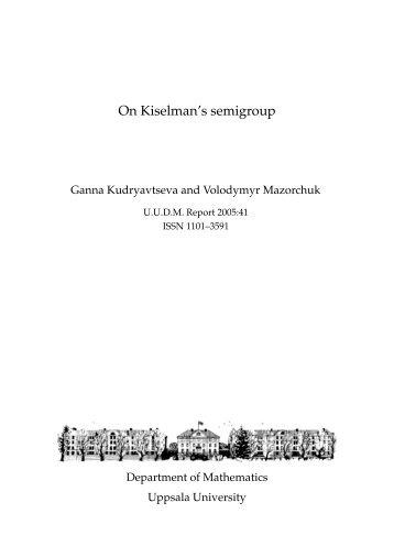 On Kiselman's semigroup
