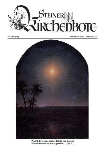 Wo ist der neugeborene König der Juden? Wir haben seinen Stern ...