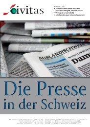 Ausgabe 1 2011 • «Ob es in zehn Jahren noch eine ... - Schw. StV
