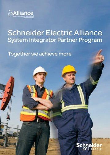Schneider Electric Alliance System Integrator Partner Program