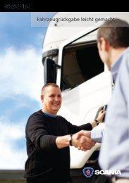 Fahrzeugrückgabe leicht gemacht - Scania