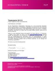 Download 165 KB - Schauspiel Essen