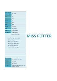 MISS POTTER - Cineplex