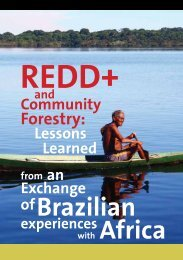REDD+ and Community Forestry: Lessons Learned