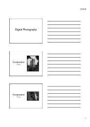 Digital Photography Presentation [pdf]