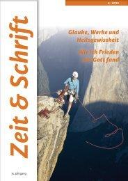 Heft 4/2012 - Zeit & Schrift