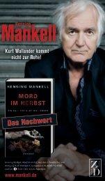 Nachwort (PDF) - Henning Mankell