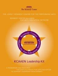 KCAAEN Leadership Kit - The John F. Kennedy Center for the ...