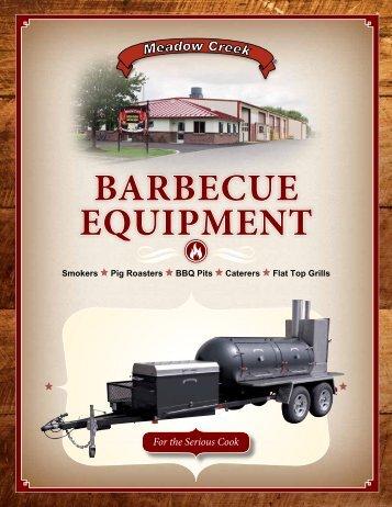 BarBecue equipment - Meadow Creek BBQ