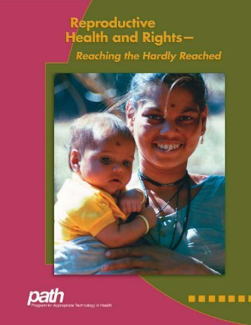 Reproductive Health and Rights: Reaching the Hardly Reached - Path