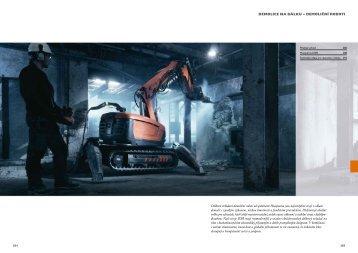 Dálkově ovládaní demoliční roboti od společnosti ... - TOP CENTRUM