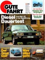 Dauertest Audi 100 5D