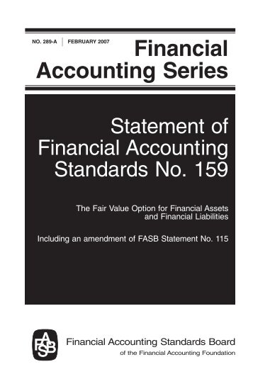 Financial Accounting Series - FASB