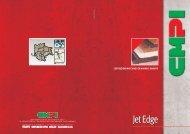 Jet Edge - CMPI Costruzione Macchine per Marmo e Granito