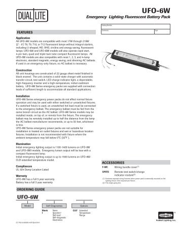 lampak ufo 6w specification sheet dual lite?quality\=85 emergency ballast wiring diagram for ufo 3aw best wiring ufo-3aw wiring diagram at nearapp.co