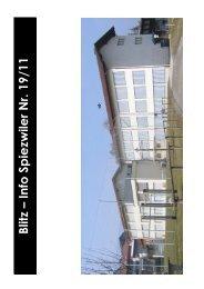 Blitz – Info Spiezwiler Nr. 19/11 - Primarschulen Spiez