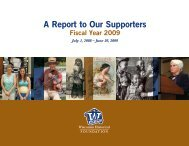 2009 Annual Report of the Wisconsin Historical Foundation