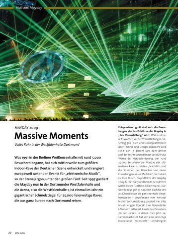 Massive Moments - Satis & Fy