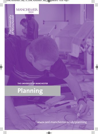 Planning - School of Environment and Development - The University ...