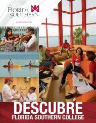 FLORIDA SOUTHERN COLLEGE - CollegeView