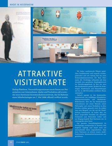 ATTRAKTIVE VISITENKARTE - cms.schlossblick.info - Schlossblick