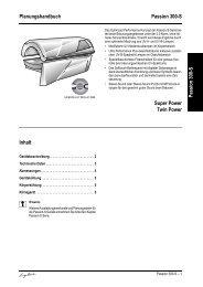 Technische Daten Ergoline Passion 300-S