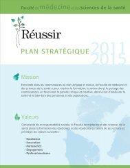 Plan stratégique 2011-2015