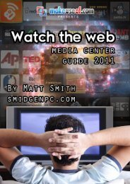 Watch The Web: Media Center Guide 2011 - Amazon Web Services