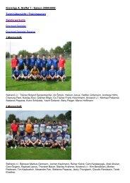 Kreisliga A, Staffel 1 - Saison 2008/2009 - TSG Heilbronn ...