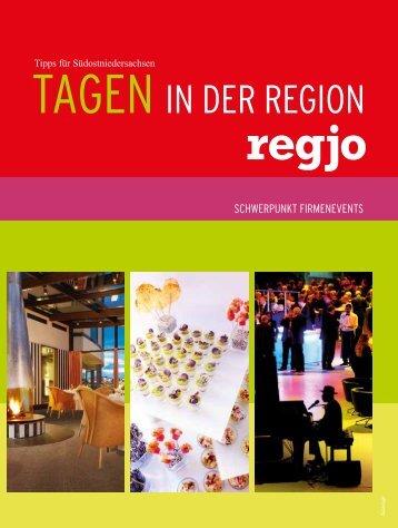 regjo Südostniedersachsen - Heft V 2012 - Tagen
